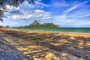 Coastline Digital Art - Paradise Beach by Adrian Evans