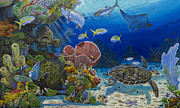 Grouper Prints - Paradise Print by Carey Chen