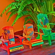 Chairs Prints - Paradise Lost Print by Debbi Granruth
