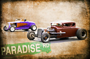 Graffitti Coupe Prints - Paradise Road Print by Steve McKinzie