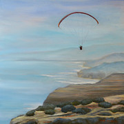 Jennifer Richards - Paraglider over Torrey...