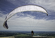 Paragliding  Print by Joanna Madloch
