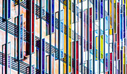 County Hall Prints - Parallels and Rectangles Print by Adam Pender