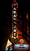 Theatres Photos - Paramount Theatre by Karen Wiles
