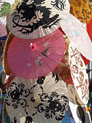 Parasols Paintings - Parasols  by Robin Maria  Pedrero
