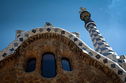 Parc Guell Prints - Parc Guell Barcelona Print by Chris Wilkes-Ciudad