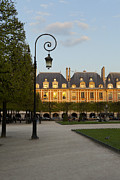Art Ferrier Art - Parc Louis XIII by Art Ferrier