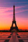 Tour Eiffel Photo Posters - Paris 15 Poster by Tom Uhlenberg