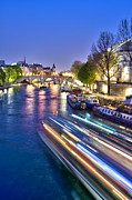 Ile De La Cite Art - Paris blues by Delphimages Photo Creations
