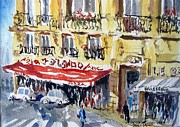 Marc L Gagnon - Paris Cafe