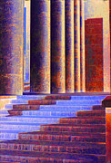 Abstract - Paris Columns by Chuck Staley