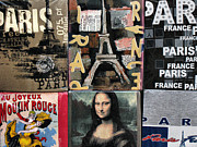 Paris Drawings Posters - Paris  Poster by Daliana Pacuraru