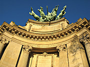 Chariot Framed Prints - Paris detail of Grand Palais Framed Print by Kiril Stanchev