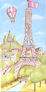 Debbie Cerone - Paris- Eiffel Tower