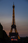 French Photo Originals - Paris Eiffel Tower by Ronny Schroeder