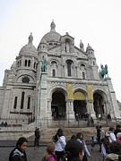 Sacred Posters - Paris France - Basilica of the Sacred Heart - Sacre Coeur - 12121 Poster by DC Photographer