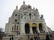 Paris France - Basilica Of The Sacred Heart - Sacre Coeur - 12122 Print by DC Photographer