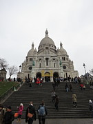 Tour Photos - Paris France - Basilica of the Sacred Heart - Sacre Coeur - 12125 by DC Photographer