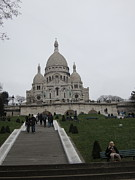 Attractions Photo Posters - Paris France - Basilica of the Sacred Heart - Sacre Coeur - 12128 Poster by DC Photographer