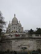 Paris France - Basilica Of The Sacred Heart - Sacre Coeur - 12129 Print by DC Photographer