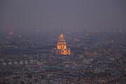 Paris France - Eiffel Tower - 011320 Print by DC Photographer