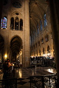 Paris France - Notre Dame De Paris - 011310 Print by DC Photographer