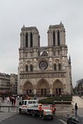 Aged Photos - Paris France - Notre Dame de Paris - 011312 by DC Photographer