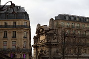 Buildings Prints - Paris France - Street Scenes - 0113119 Print by DC Photographer