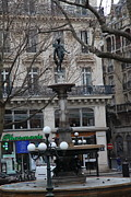 Buildings Photo Prints - Paris France - Street Scenes - 011334 Print by DC Photographer