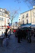 Paris France - Street Scenes - 01139 Print by DC Photographer