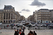 Building Metal Prints - Paris France - Street Scenes - 011393 Metal Print by DC Photographer