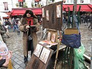 Chairs Framed Prints - Paris France - Street Scenes - 121222 Framed Print by DC Photographer