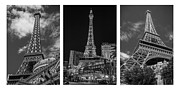 Paris Las Vegas Hotel And Casino Posters - Paris in Las Vegas Poster by Eduardo Tavares