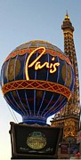 John Malone Artist Prints - Paris in Vegas Print by John Malone