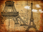 Photographs Mixed Media - Paris Je taime by Alla Albert
