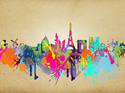 Cities Digital Art - Paris by Mark Ashkenazi