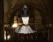Fashion Photo Prints Prints - Paris Opera House Ballet - Opera Garnier Ballet Costume - Paris Ballet Tutu - Paris Ballerina Art Print by Kathy Fornal