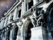 Photography Of Lamps Photos - Paris Opera House - Palais Garnier - Opera de Paris Garnier - Opera House of Paris  by Kathy Fornal