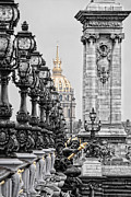 Color Key Framed Prints - Paris pompous Framed Print by Joachim G Pinkawa