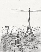 Janel Bragg - Paris Sketch