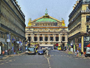 Paris Digital Art - Paris Streets 6 by Yury Malkov