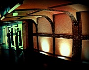 Tunnels Prints - Paris Subway Entrance Print by John Malone