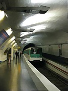 Halifax Art Galleries Prints - Paris Subway  Print by John Malone