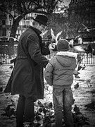 Justin Woodhouse - Parisian Father and Son