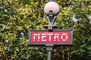 Dany  Lison - Parisian Metro Sign