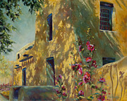 Chris Brandley Paintings - Park Avenue Pueblo by Chris Brandley