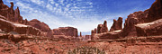 Rock Formation Prints - Park Avenue - Utah Print by Mike McGlothlen