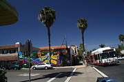 University Blvd Prints - Park Boulevard in San Diego Print by Christopher Woods