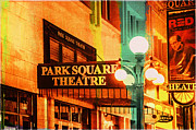 Colorful Art Digital Art - Park Square Theatre by Susan Stone