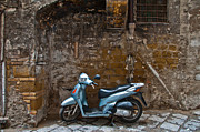 Naples Metal Prints - Parked Metal Print by Marion Galt